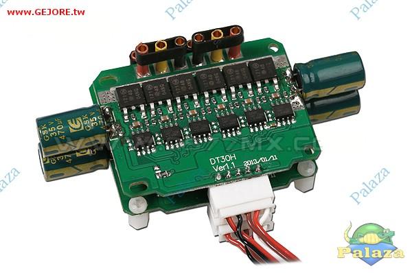 ZYX16  產品說明:  TAROT多合一電調系列採用人性化功能設計,讓多軸飛行器的接線變得方便簡捷。  電路設計抗干擾性能優秀,全部採用進口工業級器件製造。  全系列無刷電調具備輸入電壓異常/電池低電壓保護/過熱保護/油門信號丟失保護等多重保護功能。  能自動識別鋰電池的節數,併發出聲音提示,(支持6S電池)油門行程可設定,兼容不同品牌的遙控設備。  用於多軸飛行器時可兼容到400Hz高速信號。  內置預設三種油門曲線,以及可設置馬達正反轉方向。  具有(快速-緩-超緩)三種啟動模式。  最高支持轉