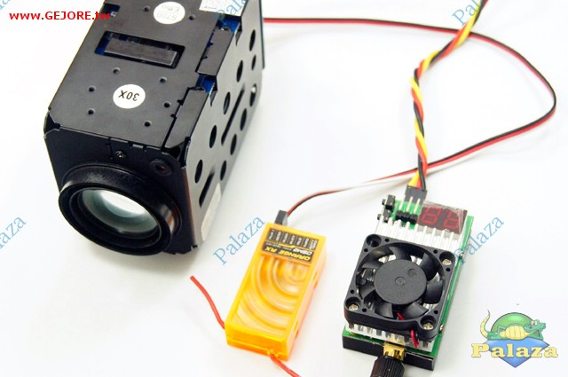 fpv 航拍专用 sony 1/4 700线/30倍 高清可变焦专业镜头(适用图传)